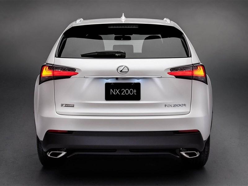 Lexus NX 2014 вид сзади фото 2