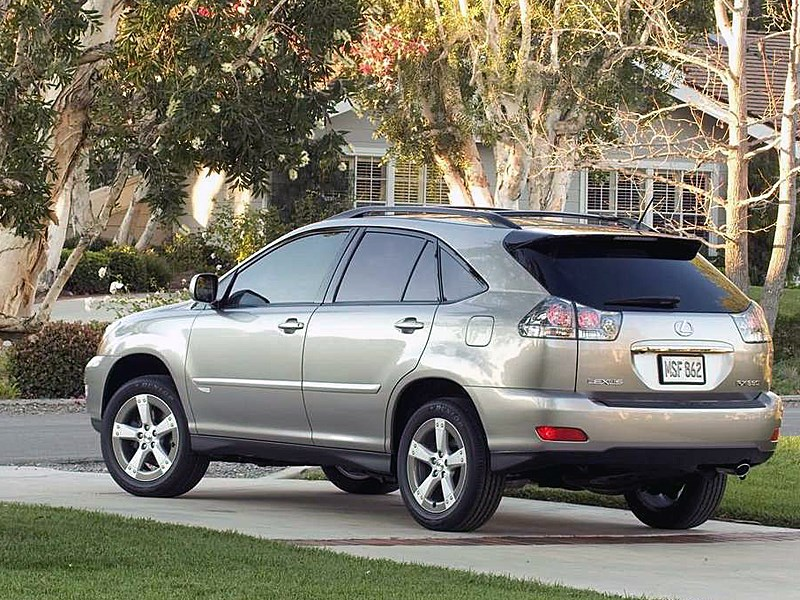 lexus rx 2005 2009 ii lexus rx. Black Bedroom Furniture Sets. Home Design Ideas