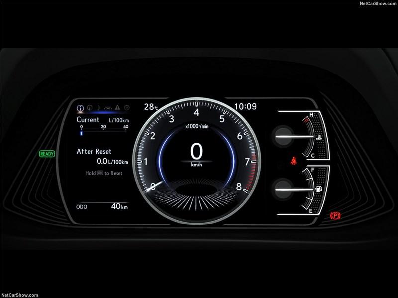 Lexus UX 2019 приборная панель