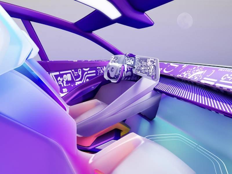 Lexus представил концептуальный интерьер LF-Z