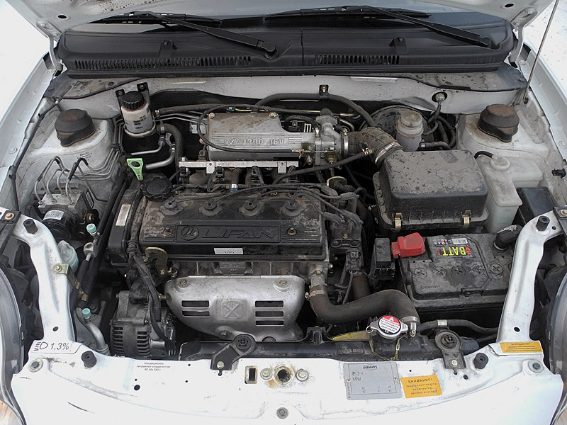 Lifan Smily 2008 двигатель