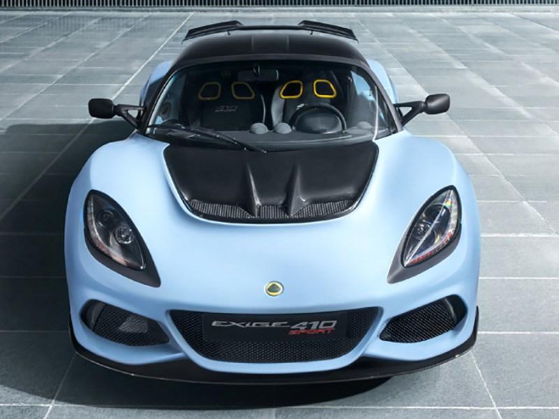 Lotus представил новую модификацию Exige
