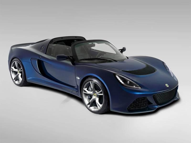 Новый Lotus Exige - Lotus Exige S Roadster 2013