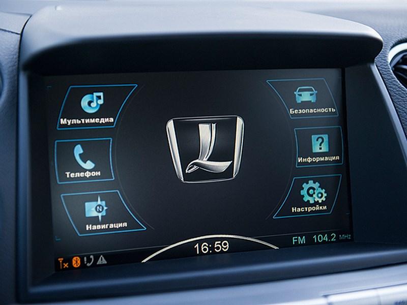 Luxgen 7 SUV 2012 монитор компьютера
