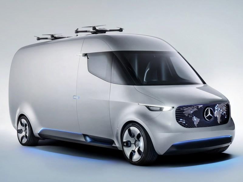 Daimler AG представил новый концептуальный фургон будущего