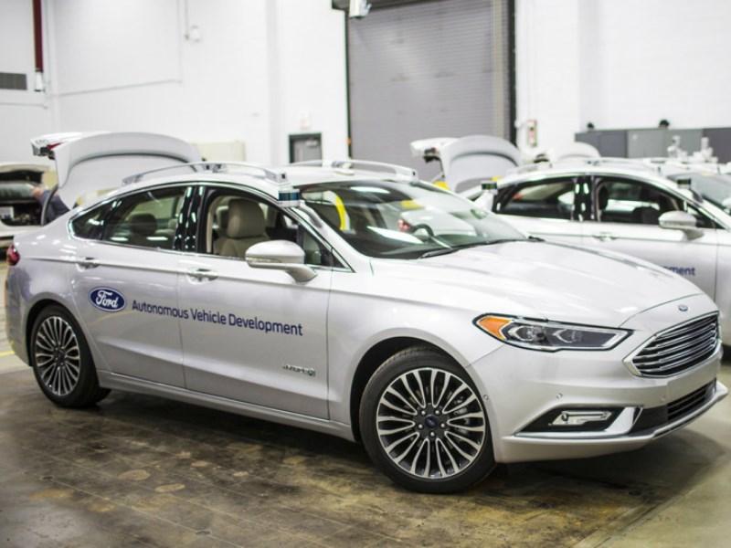 Ford представит собственные «беспилотники» на CES-2017