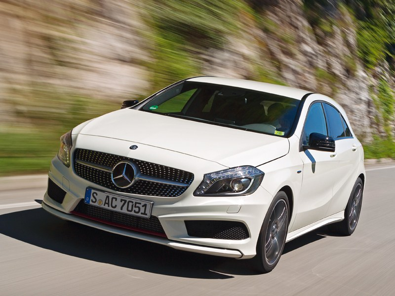 Mercedes-Benz A-Class - mercedes-benz а-klasse 2013 вид спереди