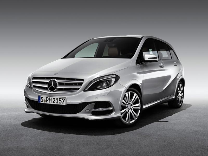 Mercedes привезет в Париж компактвэн B-Klasse на газе