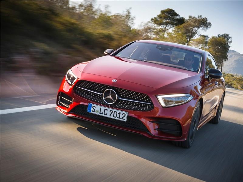 Спортивное настроение: Mercedes-Benz CLS 2019