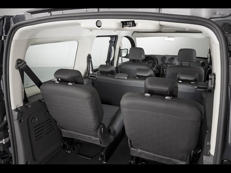Mercedes-Benz Citan Crewbus 2014 салон