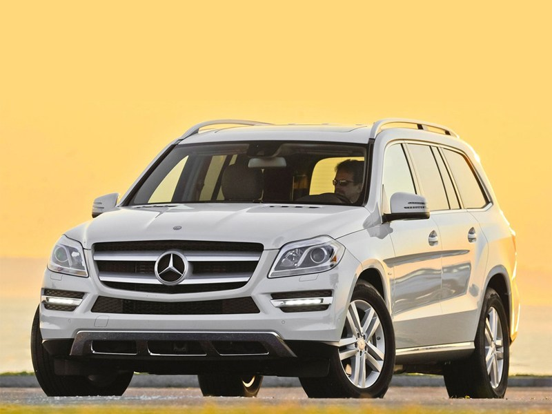 Mercedes-Benz GL 500 – рекорд ММАС-2012