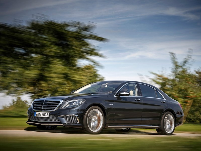 Новый Mercedes-Benz S-Class AMG - Mercedes-Benz S65 AMG 2014 вид спереди