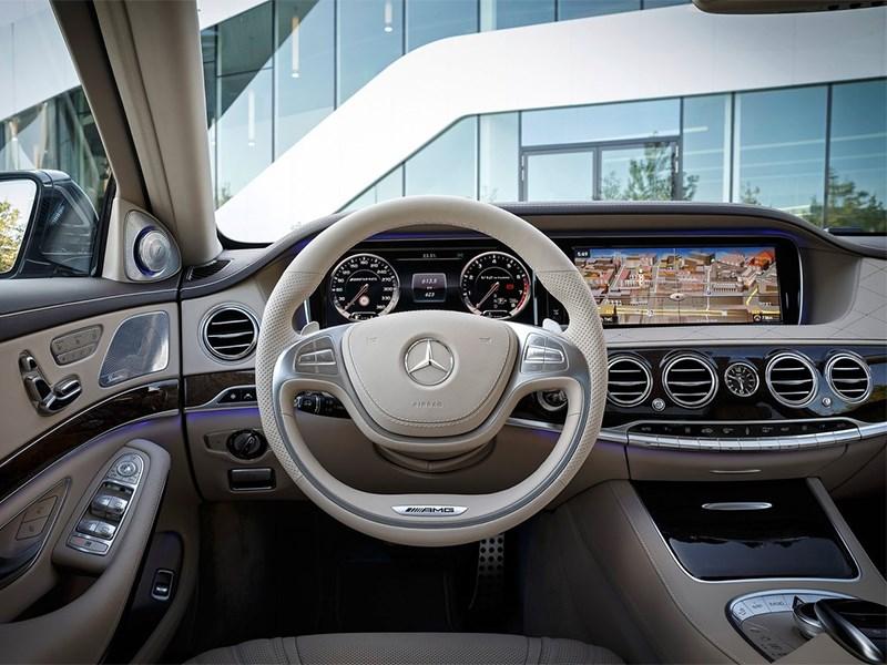 Mercedes-Benz S65 AMG 2014 водительское место