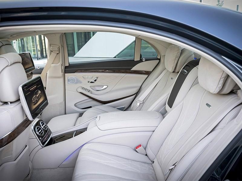 Mercedes-Benz S65 AMG 2014 задние кресла