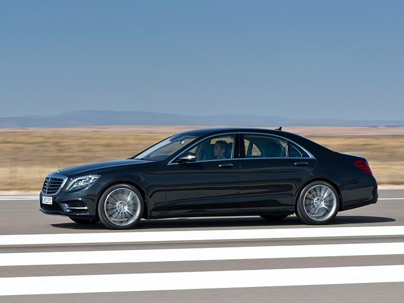 Mercedes-Benz S 500 2013 вид сбоку