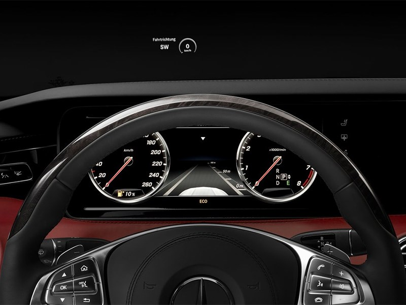 Mercedes-Benz S-Klasse Coupe 2014 приборы