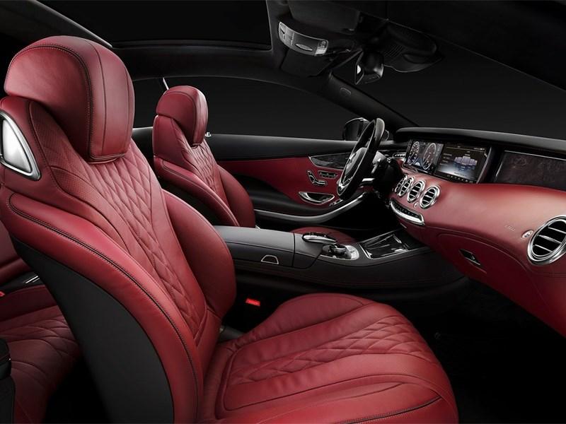 Mercedes-Benz S-Klasse Coupe 2014 передние кресла