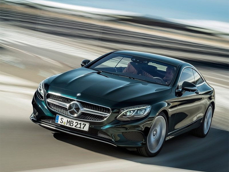 Mercedes-Benz S-Klasse Coupe 2014 вид спереди