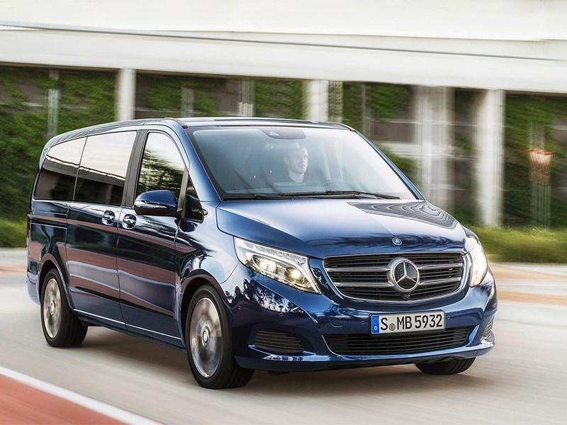 Новый Mercedes-Benz V-Class - Mercedes-Benz V-Klasse 2014 вид спереди