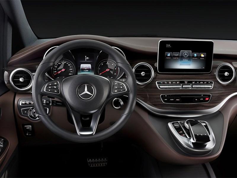 Mercedes-Benz V-Klasse 2014 водительское место