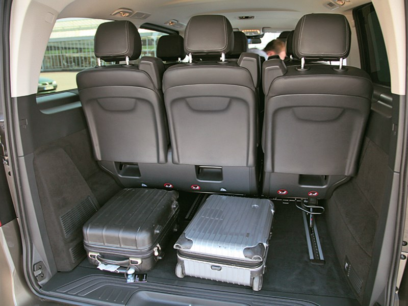 Mercedes-Benz V-Klasse 2014 багажное отделение