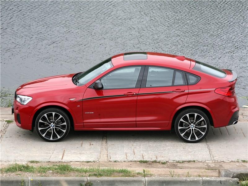 BMW X4 xDrive35i 2014 вид сверху
