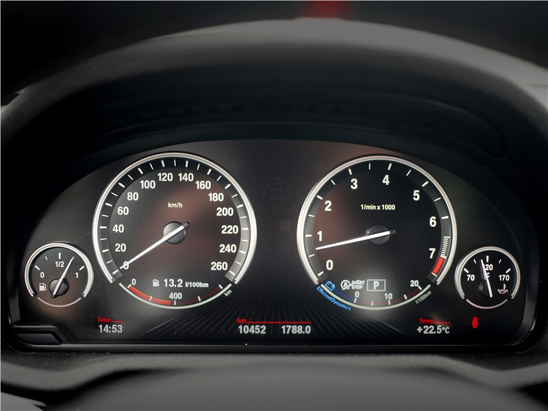 BMW X4 xDrive35i 2014 приборная панель