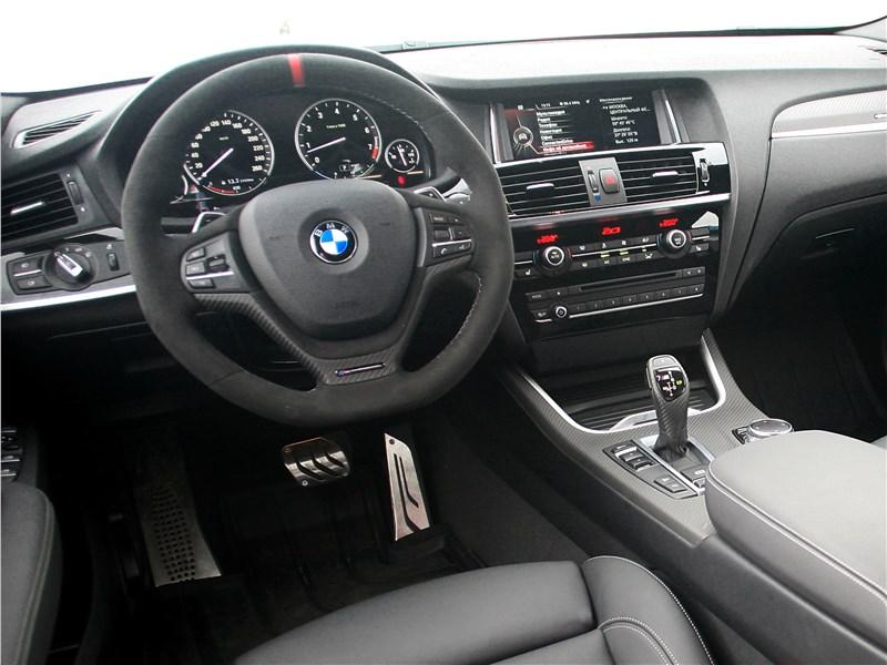 BMW X4 xDrive35i 2014 салон
