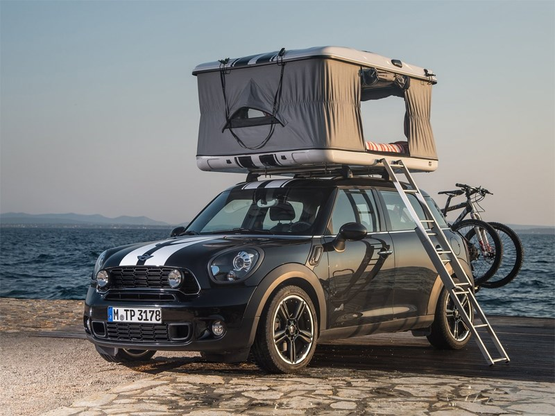 Новый MINI ALL4 Camp - MINI Countryman ALL4 Camp 2013 вид спереди