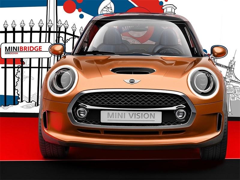 MINI Vision концепт 2013 вид спереди