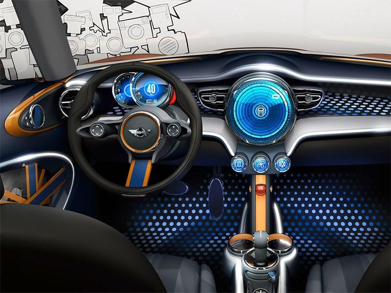 MINI Vision концепт 2013 водительское место