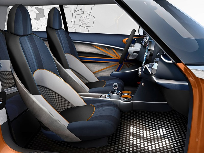MINI Vision концепт 2013 передние кресла