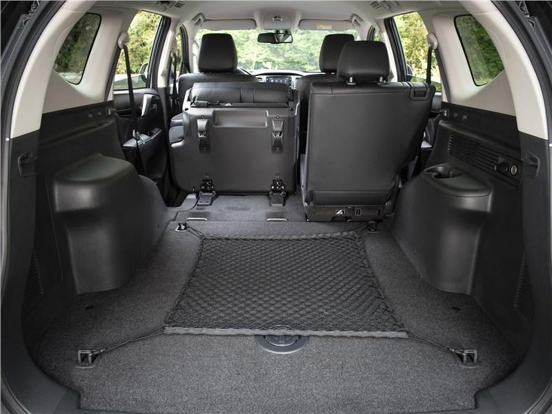 Mitsubishi Pajero Sport 2017 багажное отделение