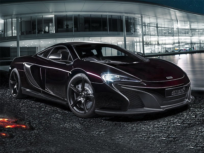 Новый McLaren 650S - McLaren Special Operations 650S Coupe 2014 Хамелеон