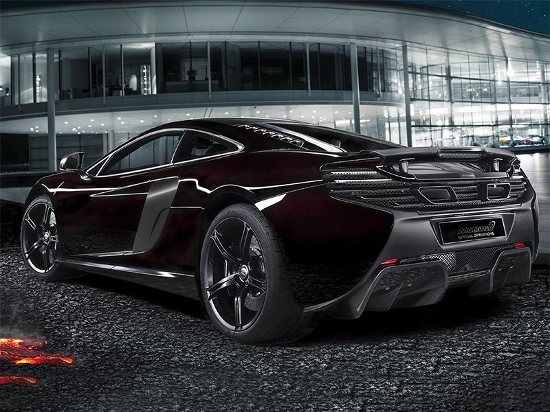 McLaren Special Operations 650S Coupe 2014 вид сзади