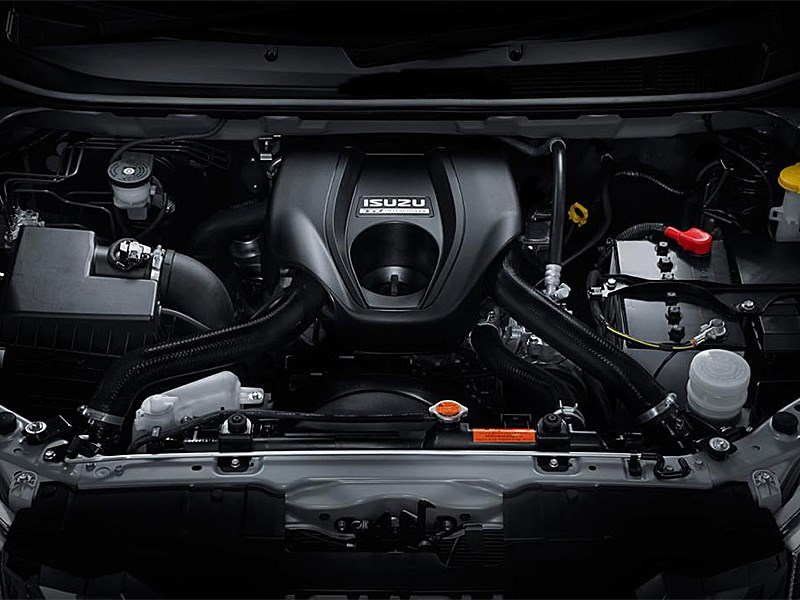 Isuzu MU-X 2013 двигатель