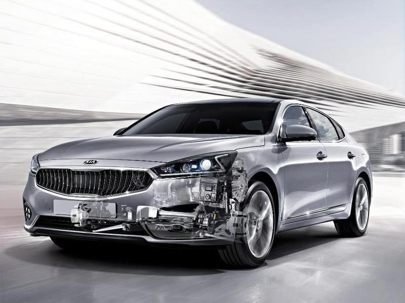 Kia представила новую 8-ступенчатую трансмиссию