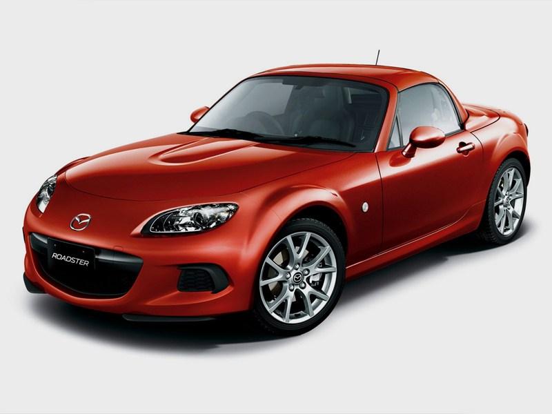 Новый Mazda MX-5 - Mazda MX-5 2013 вид спереди
