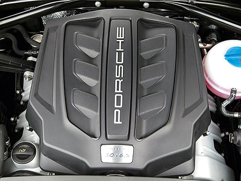 Porsche Macan 2014 двигатель