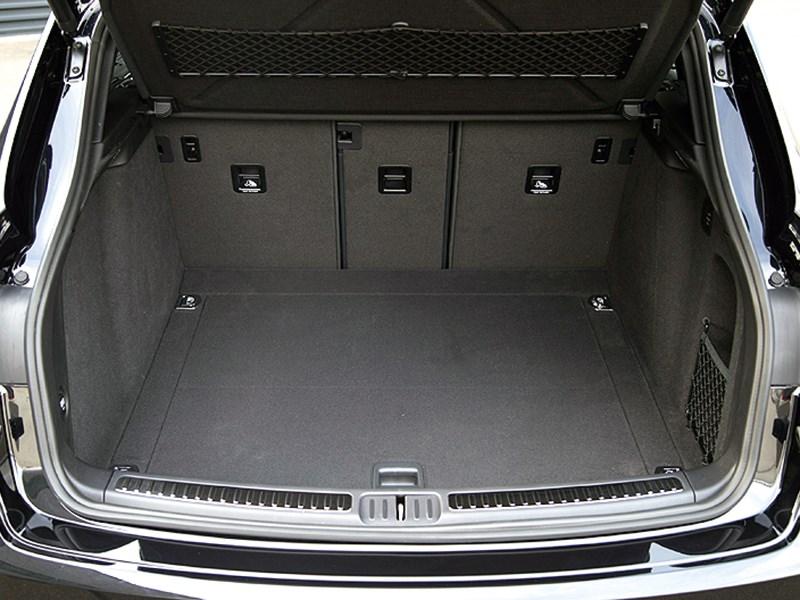 Porsche Macan 2014 багажное отделение