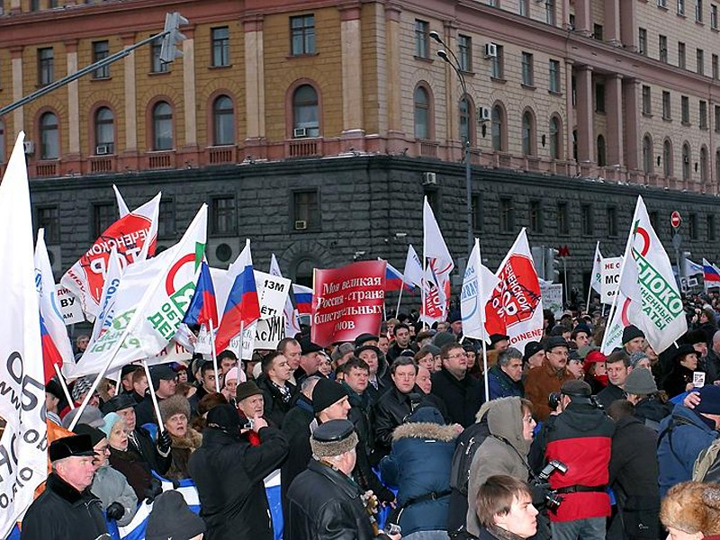 Марш оппозиции перекроет Москву в выходные