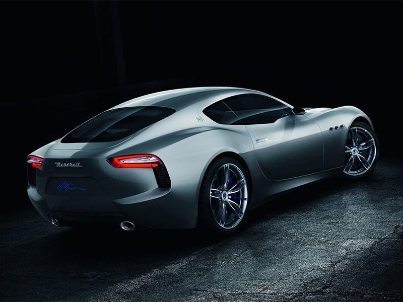 Maserati Alfieri concept 2014 вид сзади сбоку