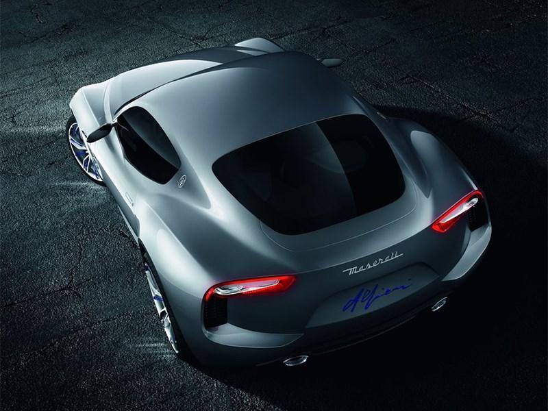 Maserati Alfieri concept 2014 вид сзади
