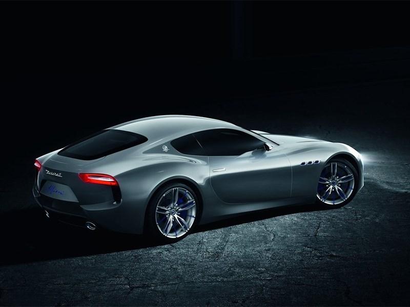 Maserati Alfieri concept 2014 вид сбоку