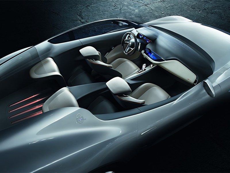 Maserati Alfieri concept 2014 салон