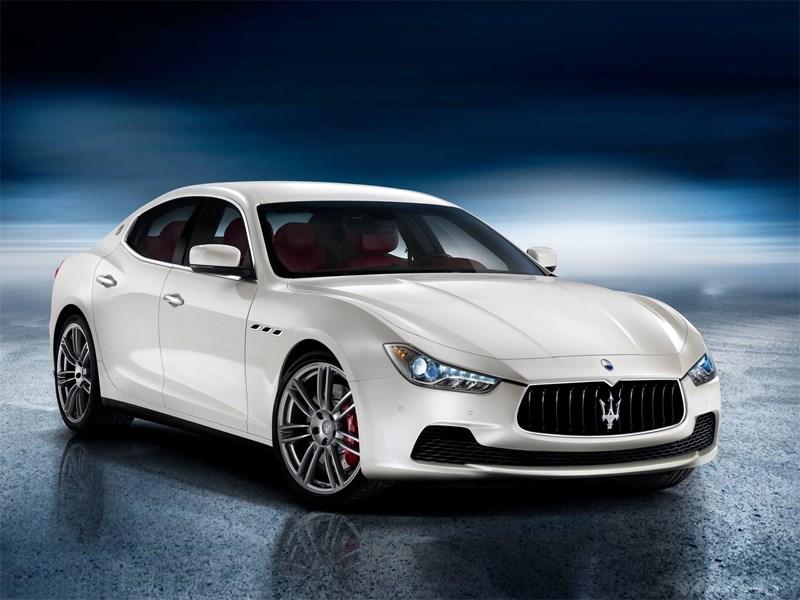 Maserati Ghibli 2014 вид спереди