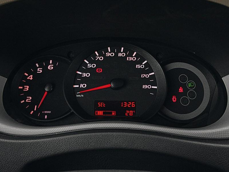 Renault Master 2010 приборная панель
