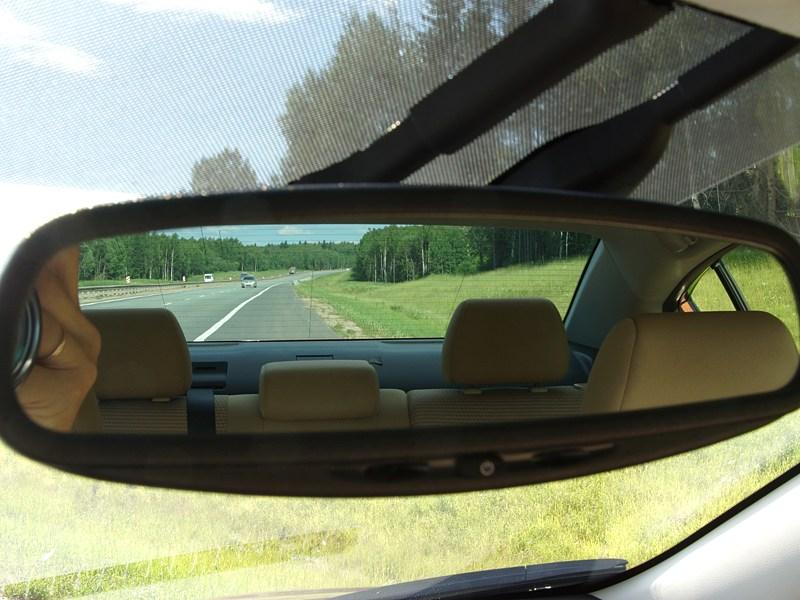 Mazda 3 2011 зеркало заднего вида