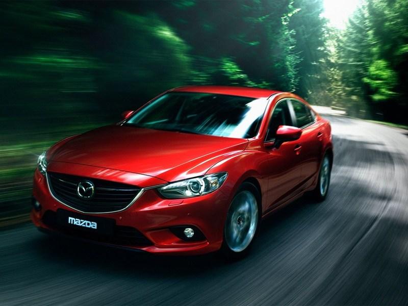 Новый Mazda 6 - Mazda 6 2013 вид спереди