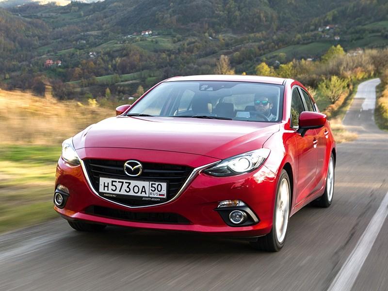 Mazda 3 - mazda 3 2013 вид спереди фото 1
